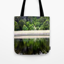 Inside a Crater Tote Bag
