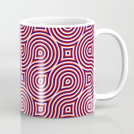 Spirales about red Coffee Mug