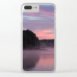 Sustenance at Sunrise Clear iPhone Case