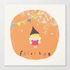 Fairy Hugs Canvas Print