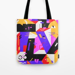 Multi-dimensional city Tote Bag