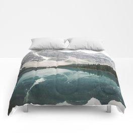 Moraine lake Comforters