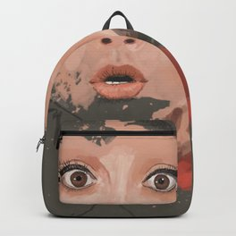 Splash portrait Backpack