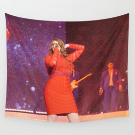 Meghan T live in NYC Wall Tapestry