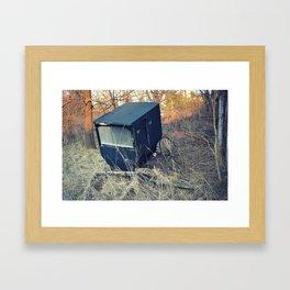 Horseless Carriage Framed Art Print