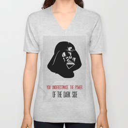 Darth Vader Power of The Dark Side Unisex V-Neck