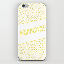 Summer Vibes! iPhone Skin