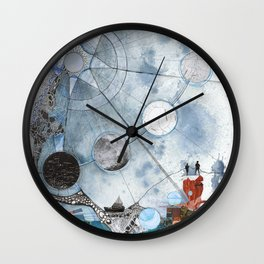 Exploration: Setting Sail Wall Clock