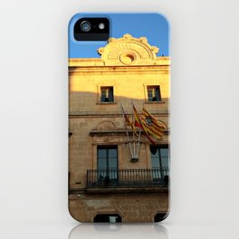 Historical Building on Menorca iPhone Case