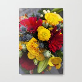 Floral IV  /  The Fresh Flower Collection Metal Print