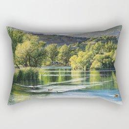 The Golden Hour Rectangular Pillow