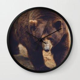 bear IV Wall Clock