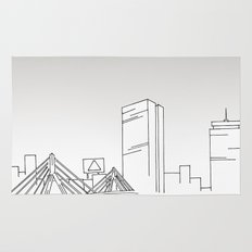 Boston Skyline Rug