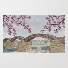 Kintaikyo bridge Rug
