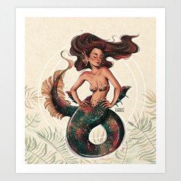 Morena Art Print
