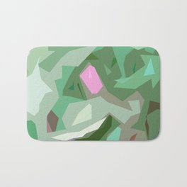 Abstract Camouflage Bath Mat