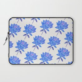 Sacred Lotus – Blue Blossom Laptop Sleeve