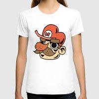 super mario T-shirts featuring Super Mario by Déoz Woorld