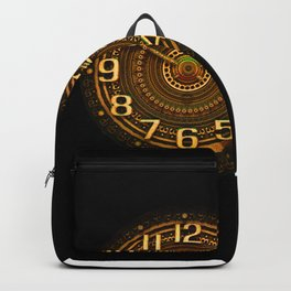 vintage clock_29 Backpack