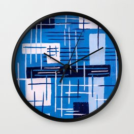 Living in levity Wall Clock