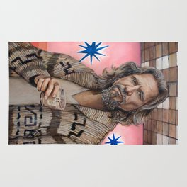 The Dude / The Big Lebowski / Jeff Bridges Rug