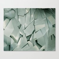 metal Canvas Prints featuring METAL by peocle