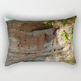 Montezuma Castle Rectangular Pillow