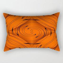 Tangerine Rectangular Pillow