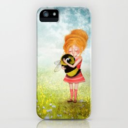 Bee Whisperer - Save the Bees iPhone Case