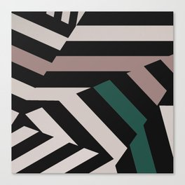 ASDIC/Radar Dazzle Camouflage Graphic Canvas Print