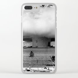 Operation Crossroads: Baker Explosion Clear iPhone Case