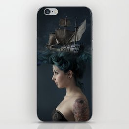 Sailing - Blue iPhone Skin