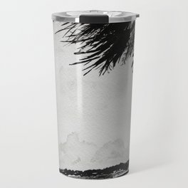 Palm Tree on the Marsh Travel Mug