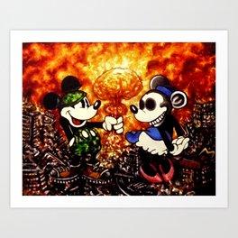 My Nuclear Romance  Art Print