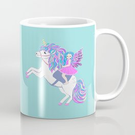 Unicorn and fairy magic Coffee Mug