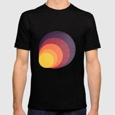 Colors Black MEDIUM Mens Fitted Tee