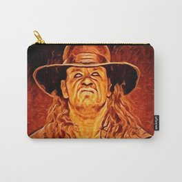 Undertaker Artistic Illustration Fire Style Carry-All Pouch