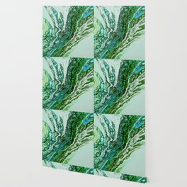 Green blue rivers Wallpaper