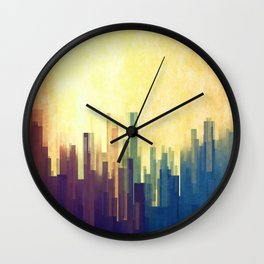The Cloud City Wall Clock
