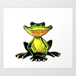 Jon Jade - The Cambodian Tree Frog Art Print
