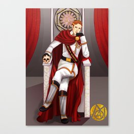 Long live the Emperor Canvas Print