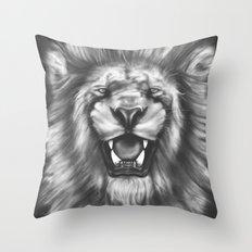 Courageous (Original drawing) Throw Pillow