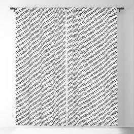 Binary Code - diagonal version Blackout Curtain