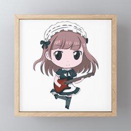 Band-Maid Kanami Framed Mini Art Print