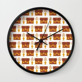 Box Marash Pattern Wall Clock