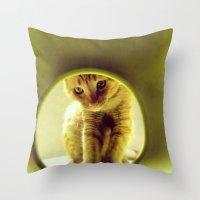 leonardo dicaprio Throw Pillows featuring LEOnardo by dorilozada