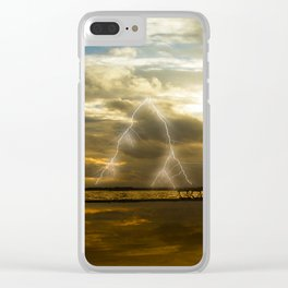 Weather dramatics Clear iPhone Case