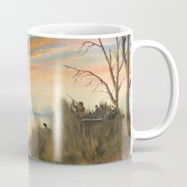 Evening Duck Hunters Coffee Mug