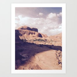 Corona Arch, Moab Art Print