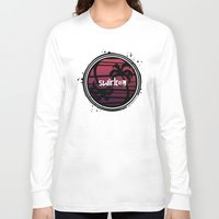 fire emblem Long Sleeve T-shirts featuring Yin Yang Palm by Swirl Apparel